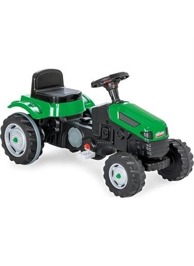 KeiKei  Active Traktör Pedallı- Kırmızı 07-314 Renkli